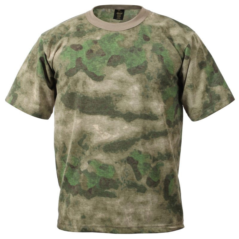 ROTHCO A-TACS T-SHIRT - FG GREEN - Hock Gift Shop | Army Online Store in Singapore