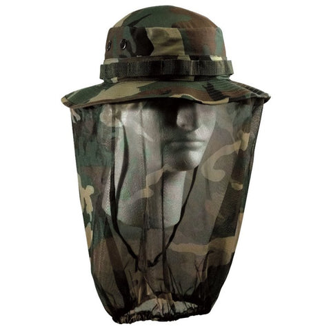 ROTHCO BOONIE HAT W/ MOSQUITO NETTING - Hock Gift Shop | Army Online Store in Singapore
