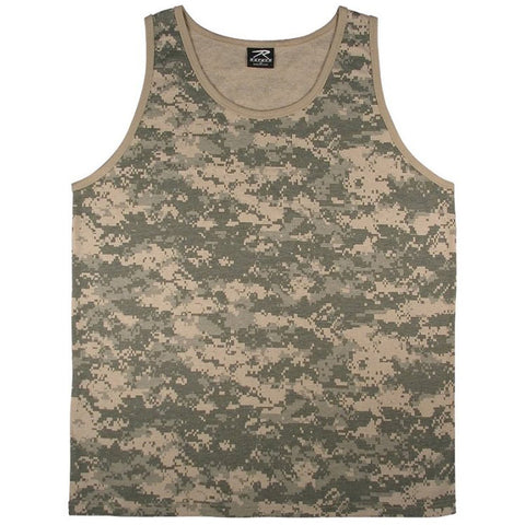 ROTHCO TANK TOP - ACU DIGITAL CAMO - Hock Gift Shop | Army Online Store in Singapore
