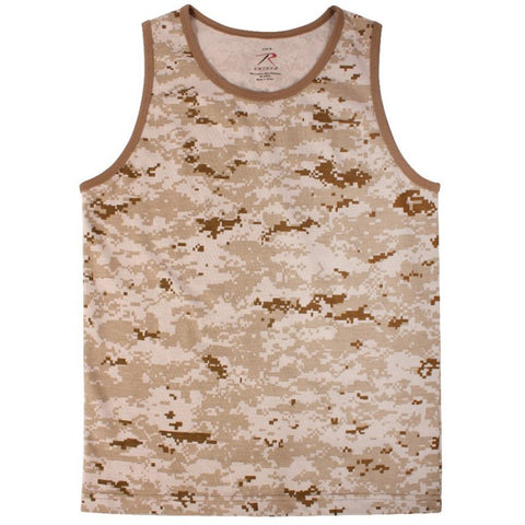 ROTHCO TANK TOP - DESERT DIGITAL - Hock Gift Shop | Army Online Store in Singapore