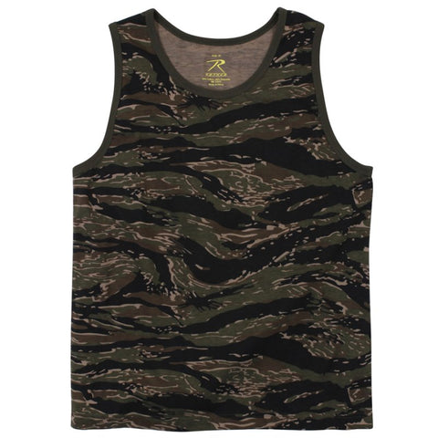 ROTHCO TANK TOP - TIGER STRIPE - Hock Gift Shop | Army Online Store in Singapore