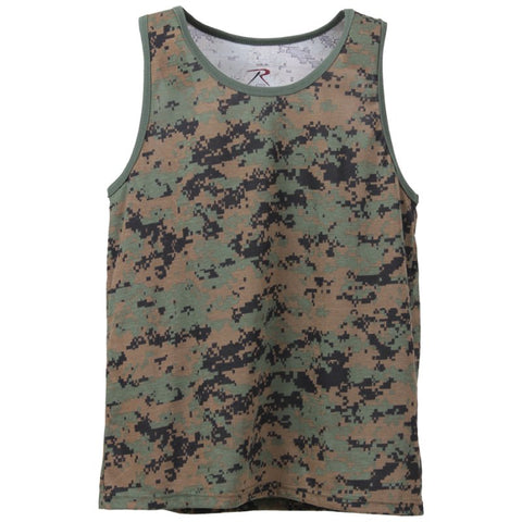 ROTHCO TANK TOP - WOODLAND DIGITAL - Hock Gift Shop | Army Online Store in Singapore