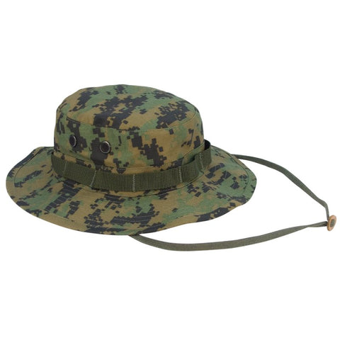 ROTHCO DIGITAL CAMO POLY/COTTON BOONIE HAT - WOODLAND DIGITAL - Hock Gift Shop | Army Online Store in Singapore