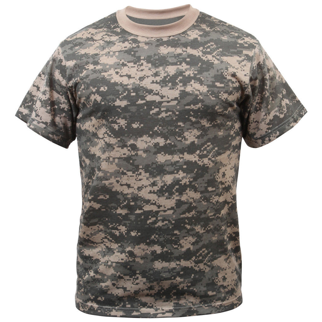 ROTHCO CAMO T-SHIRT - ACU - Hock Gift Shop | Army Online Store in Singapore