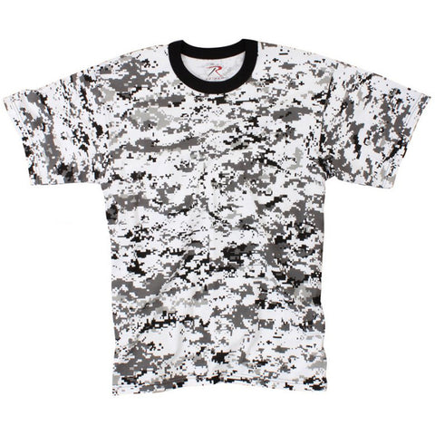 ROTHCO CAMO T-SHIRT - DIGITAL CITY CAMO - Hock Gift Shop | Army Online Store in Singapore