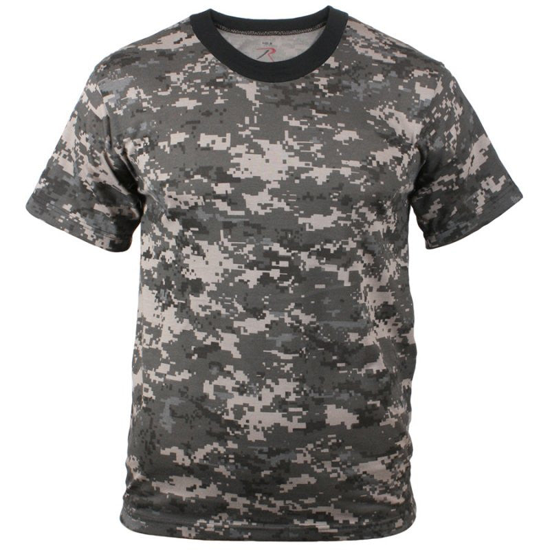 ROTHCO CAMO T-SHIRT - SUBDUED URBAN - Hock Gift Shop | Army Online Store in Singapore