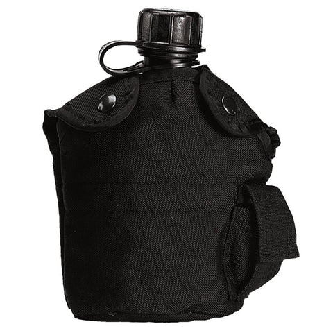 ROTHCO G.I. TYPE ENHANCED NYLON 1QT. CANTEEN COVER - BLACK - Hock Gift Shop | Army Online Store in Singapore