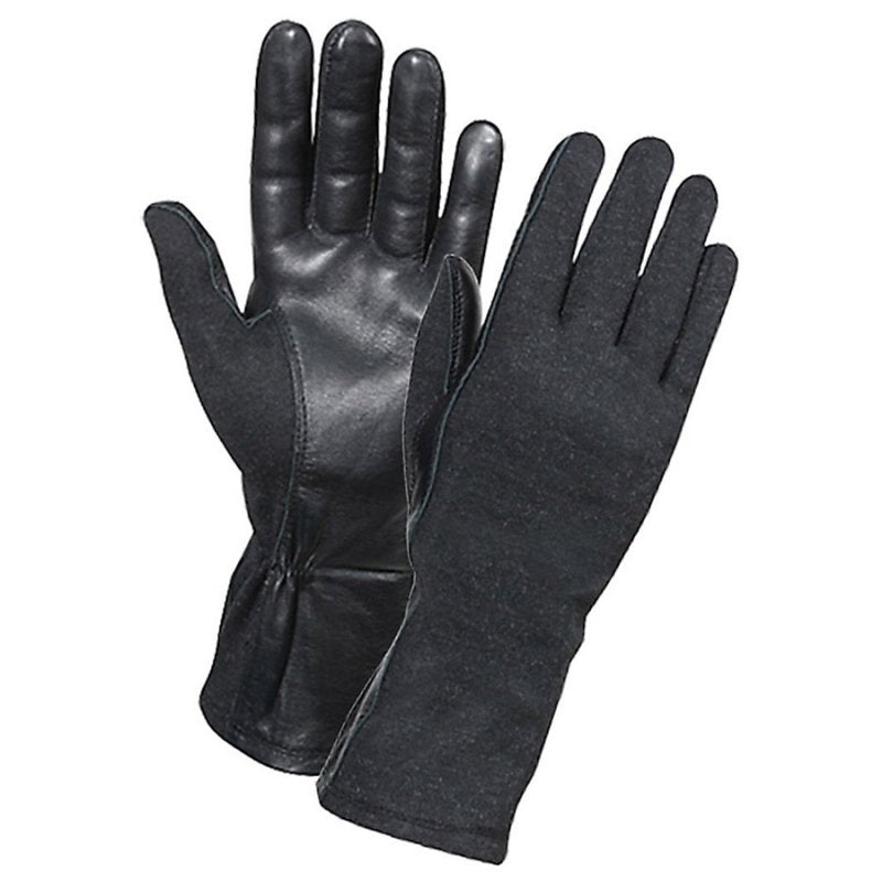 ROTHCO G.I. TYPE FLAME RESISTANT FLIGHT GLOVES - BLACK - Hock Gift Shop | Army Online Store in Singapore