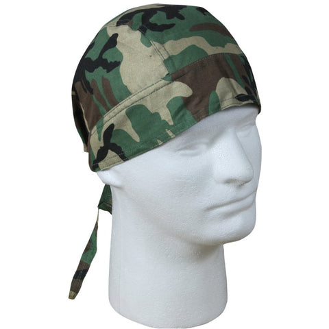 ROTHCO HEAD WRAP - WOODLAND CAMO - Hock Gift Shop | Army Online Store in Singapore