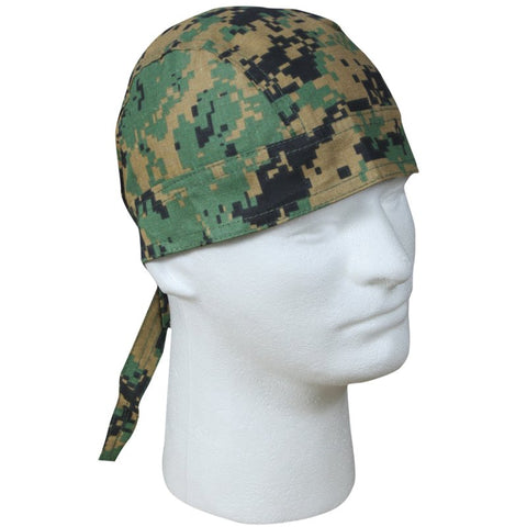 ROTHCO HEAD WRAP - WOODLAND DIGITAL CAMO - Hock Gift Shop | Army Online Store in Singapore