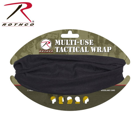 ROTHCO MULTI USE TACTICAL WRAP - BLACK - Hock Gift Shop | Army Online Store in Singapore