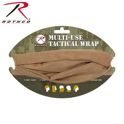 ROTHCO MULTI USE TACTICAL WRAP - COYOTE - Hock Gift Shop | Army Online Store in Singapore