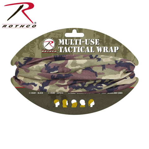 ROTHCO MULTI USE TACTICAL WRAP - WOODLAND CAMO - Hock Gift Shop | Army Online Store in Singapore