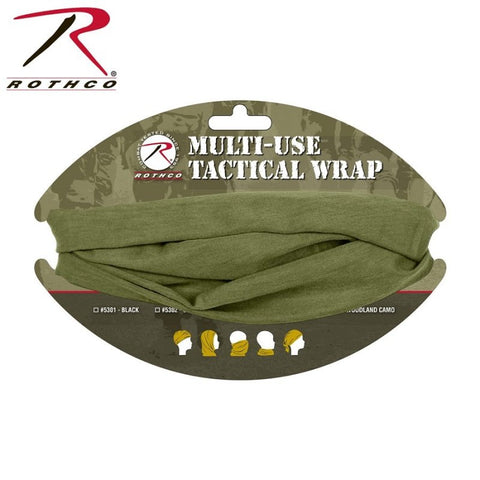 ROTHCO MULTI USE TACTICAL WRAP - OLIVE DRAB - Hock Gift Shop | Army Online Store in Singapore