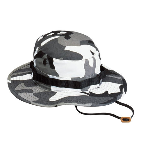 ROTHCO POLY/COTTON BOONIE HAT - CITY CAMO - Hock Gift Shop | Army Online Store in Singapore