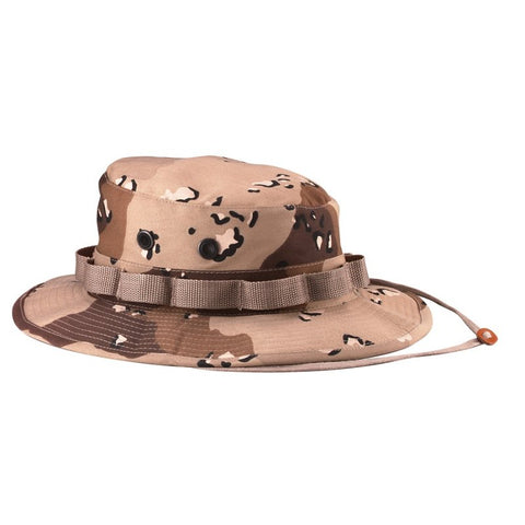 ROTHCO POLY/COTTON BOONIE HAT - DESERT CAMO - Hock Gift Shop | Army Online Store in Singapore