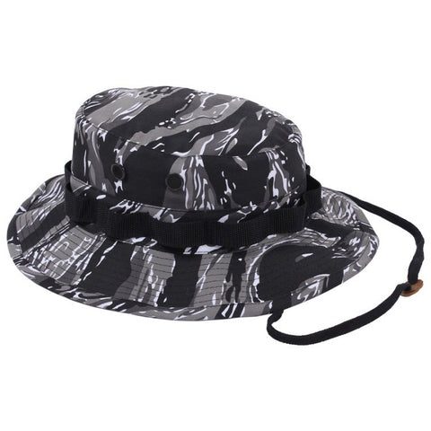 ROTHCO POLY/COTTON BOONIE HAT - URBAN TIGER CAMO - Hock Gift Shop | Army Online Store in Singapore