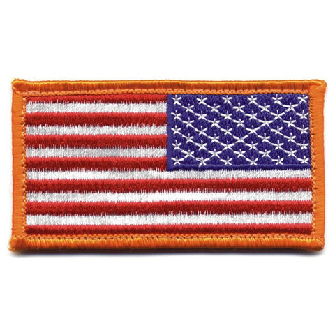 ROTHCO REVERSE AMERICAN FLAG PATCH - FULL COLOR - Hock Gift Shop | Army Online Store in Singapore