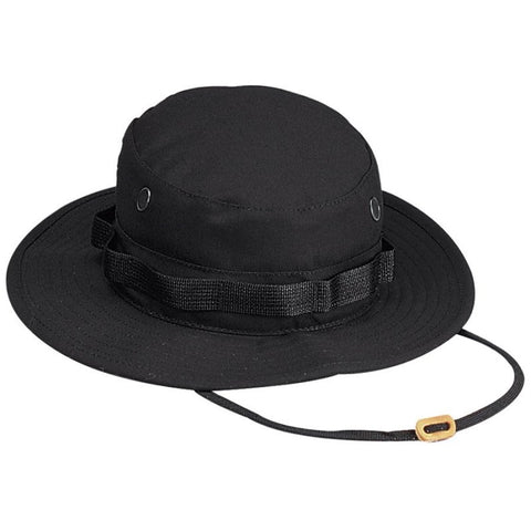 ROTHCO RIP-STOP BOONIE HAT - BLACK - Hock Gift Shop | Army Online Store in Singapore