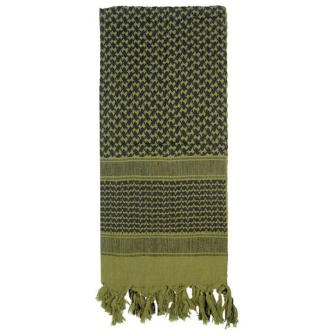 ROTHCO SHEMAGH TACTICAL DESERT SCARF - OD - Hock Gift Shop | Army Online Store in Singapore