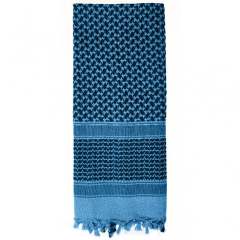 ROTHCO SHEMAGH TACTICAL DESERT SCARF - BLUE/BLACK - Hock Gift Shop | Army Online Store in Singapore