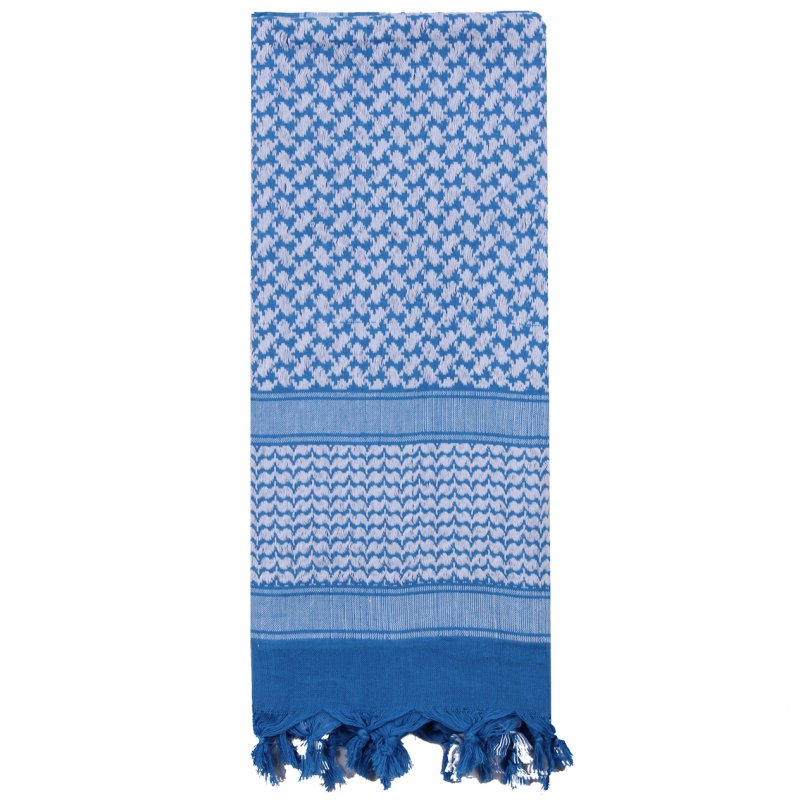 ROTHCO SHEMAGH TACTICAL DESERT SCARF - BLUE/WHITE - Hock Gift Shop | Army Online Store in Singapore