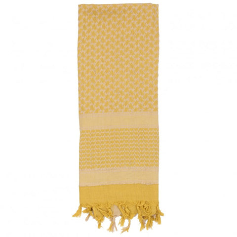 ROTHCO SHEMAGH TACTICAL DESERT SCARF - DESERT SAND/TAN - Hock Gift Shop | Army Online Store in Singapore