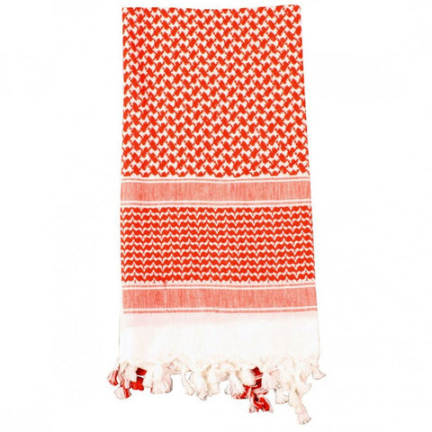 ROTHCO SHEMAGH TACTICAL DESERT SCARF - RED/WHITE - Hock Gift Shop | Army Online Store in Singapore
