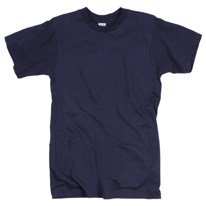 ROTHCO 100% COTTON T-SHIRT - NAVY BLUE - Hock Gift Shop | Army Online Store in Singapore