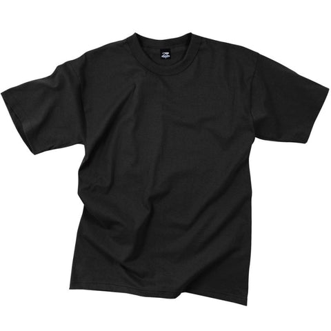 ROTHCO 100% COTTON T-SHIRT - BLACK - Hock Gift Shop | Army Online Store in Singapore