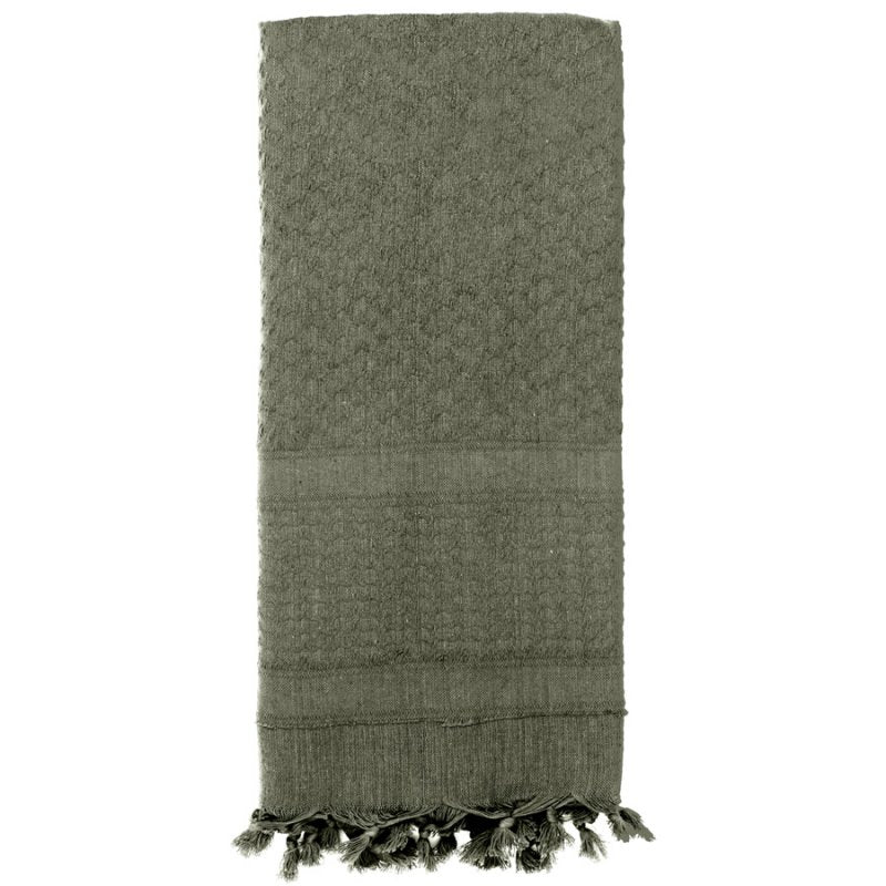 ROTHCO SOLID COLOR SHEMAGH TACTICAL DESERT SCARF - FOLIAGE - Hock Gift Shop | Army Online Store in Singapore
