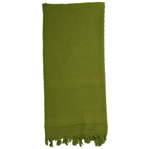 ROTHCO SOLID COLOR SHEMAGH TACTICAL DESERT SCARF - OD - Hock Gift Shop | Army Online Store in Singapore