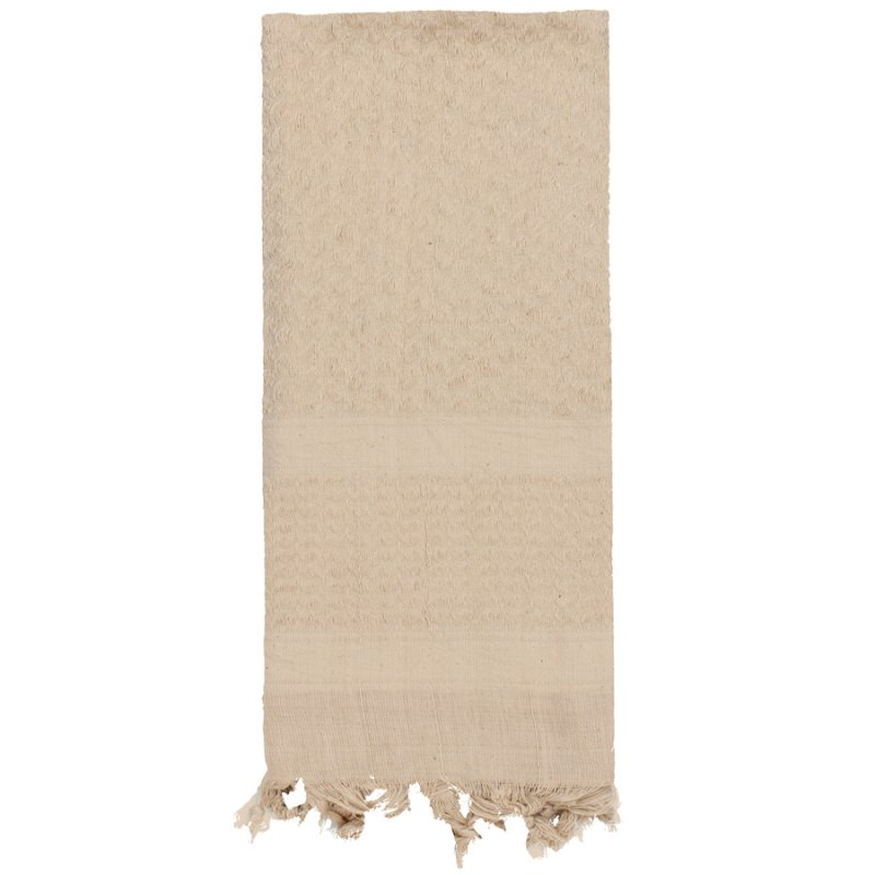 ROTHCO SOLID COLOR SHEMAGH TACTICAL DESERT SCARF - TAN – Hock Gift Shop  18aed701e78b
