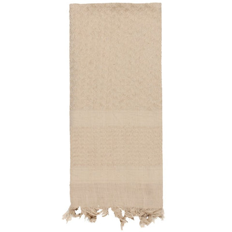 ROTHCO SOLID COLOR SHEMAGH TACTICAL DESERT SCARF - TAN - Hock Gift Shop | Army Online Store in Singapore