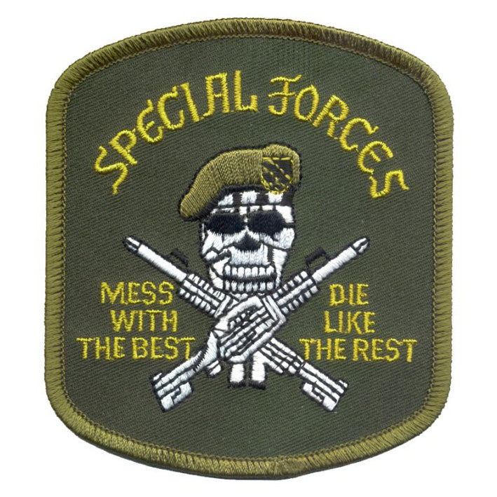 ROTHCO SPECIAL FORCES MESS WITH THE BEST PATCH - Hock Gift Shop | Army Online Store in Singapore