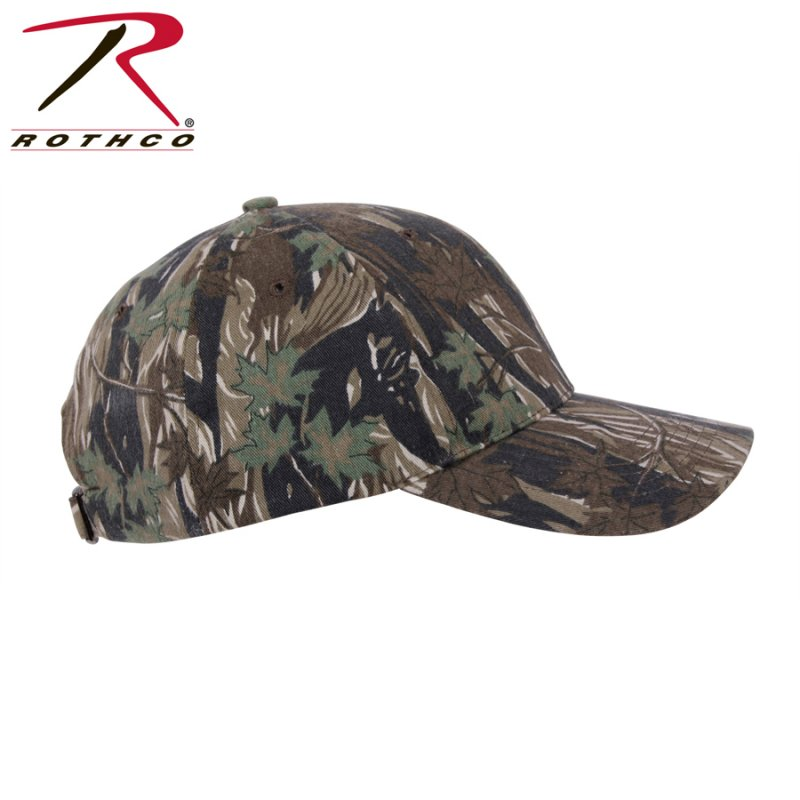 0f85ccf40aa ROTHCO SUPREME CAMO LOW PROFILE CAP - SMOKEY BRANCH - Hock Gift Shop