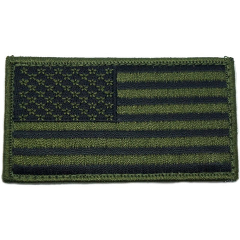 ROTHCO USA FLAG PATCH - OD GREEN - Hock Gift Shop | Army Online Store in Singapore