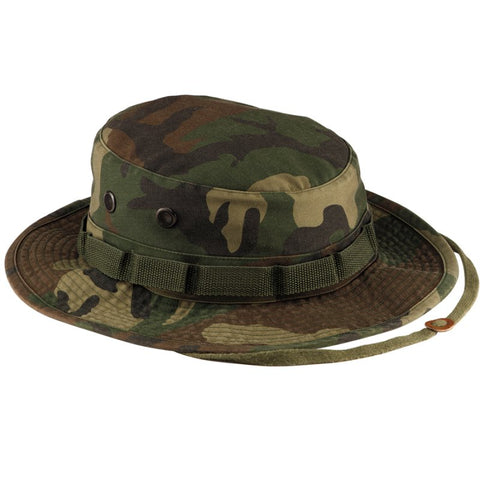 ROTHCO VINTAGE BOONIE HAT - WOODLAND CAMO - Hock Gift Shop | Army Online Store in Singapore