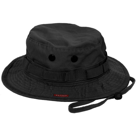 ROTHCO VINTAGE BOONIE HAT - BLACK - Hock Gift Shop | Army Online Store in Singapore