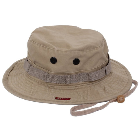 ROTHCO VINTAGE BOONIE HAT - KHAKI - Hock Gift Shop | Army Online Store in Singapore
