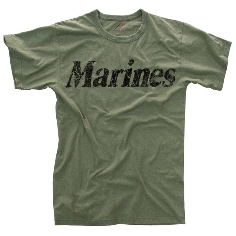 "ROTHCO VINTAGE ""MARINES"" T-SHIRT - Hock Gift Shop 