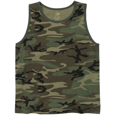 ROTHCO TANK TOP - VINTAGE WOODLAND - Hock Gift Shop | Army Online Store in Singapore