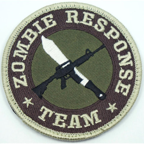 ROTHCO ZOMBIE RESPONSE TEAM PATCH - Hock Gift Shop | Army Online Store in Singapore