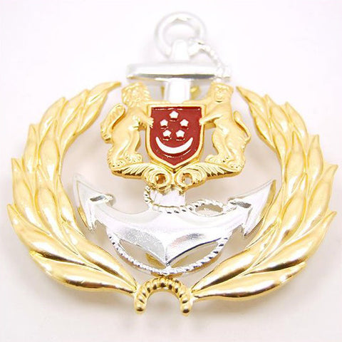 RSN #3 - OFFICER CAP BADGE - Hock Gift Shop | Army Online Store in Singapore