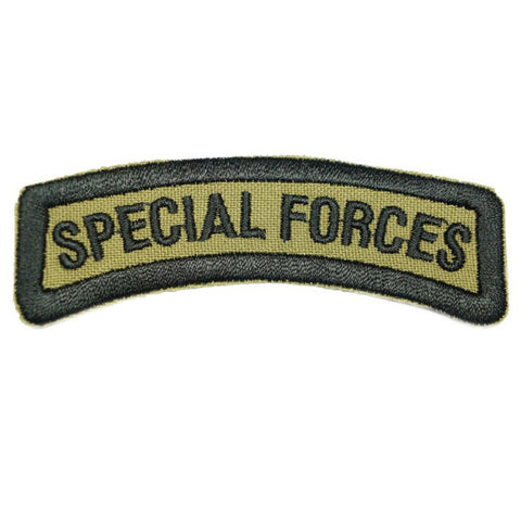 SAF SPECIAL FORCES TAB, OLD - OLIVE GREEN - Hock Gift Shop | Army Online Store in Singapore