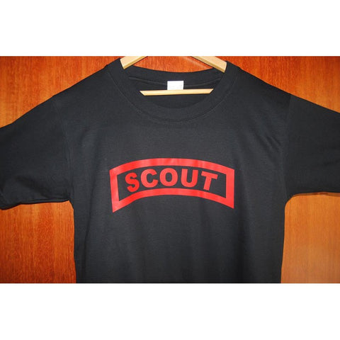 HGS T-SHIRT - SCOUT TAB (RED PRINT) - Hock Gift Shop | Army Online Store in Singapore