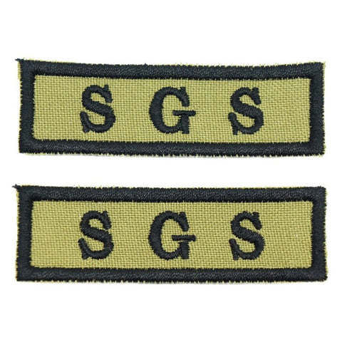 SGS NCC SCHOOL TAG - 1 PAIR - Hock Gift Shop | Army Online Store in Singapore