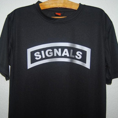 HGS T-SHIRT - SIGNALS TAB (SILVER) - Hock Gift Shop | Army Online Store in Singapore