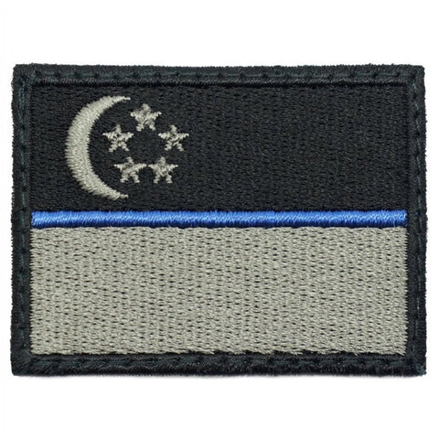 SINGAPORE FLAG - BLUE LINE (MEDIUM) - Hock Gift Shop | Army Online Store in Singapore