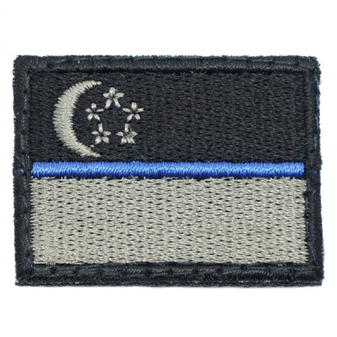 SINGAPORE FLAG - BLUE LINE (MINI) - Hock Gift Shop | Army Online Store in Singapore